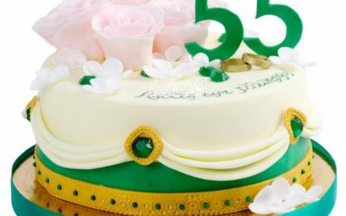 Торт на годовщину, торты на заказ Московский пекарь