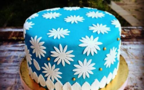 Сливочный торт с малиной, Домашняя кондитерская Зефир, Обнинск