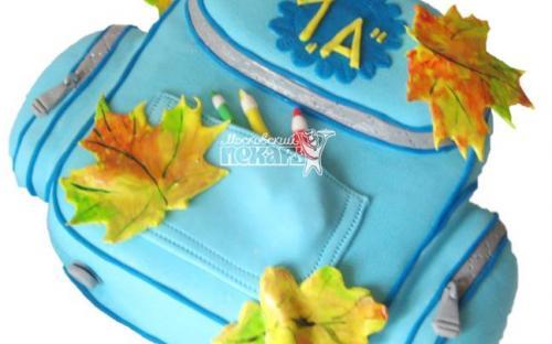 Торт на 1 Сентября, торты на заказ Московский пекарь