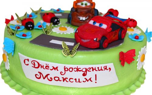 """Мальчикам торты на заказ, Кондитерская фабрика """"ТортЛенд"""", Москва"""