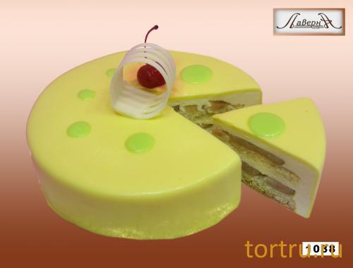 """Торт """"Груша-маракуйя"""", кондитерская Лаверна"""