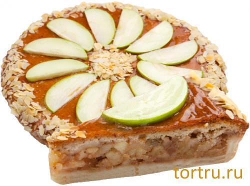 """Торт """"Швейцарский яблочный"""", Кондитерский дом Александра Селезнева"""
