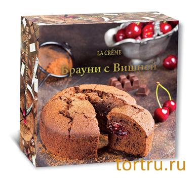 "Торт ""Брауни с вишней"", кондитерский дом La-Creame"