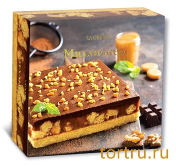 """Торт """"Миллионер"""", кондитерский дом La-Creame"""