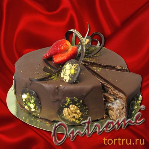 """Торт """"Онтроме Велюр черный"""", Онтроме, кафе-кондитерская, Санкт-Петербург"""