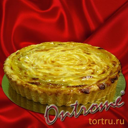 "Торт ""Корзиночка Персик"", Онтроме, кафе-кондитерская, Санкт-Петербург"