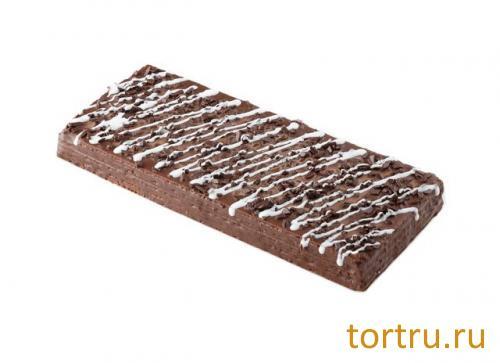 """Торт вафельный """"Шоколадный"""", Хлебокомбинат № 1 Курганский"""