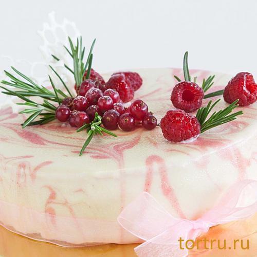 "Торт ""Онтроме Малина"", Онтроме, кафе-кондитерская, Санкт-Петербург"