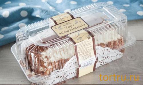 """Торт """"Сметанный"""", ВкусВилл"""