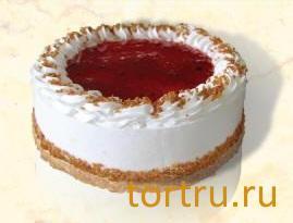 "Торт ""Брусничный"", Хлебокомбинат Кристалл"