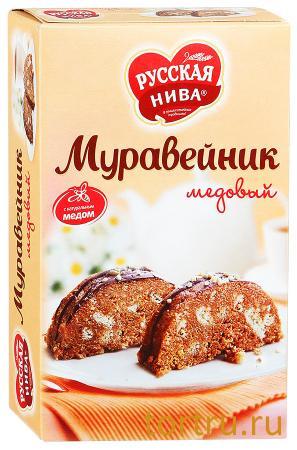 """Торт """"Муравейник медовый"""", Русская Нива"""