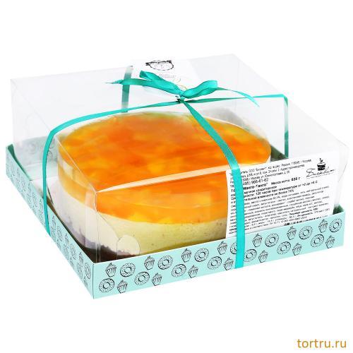 """Торт """"Манго-Танго"""", мастерская десертов Бисквит, Москва"""
