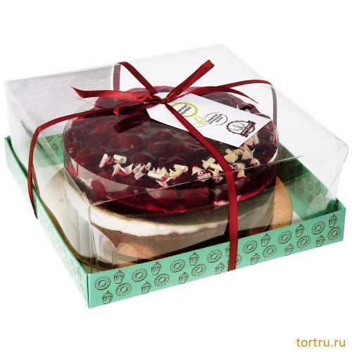 """Торт """"Сладкая вишня"""", мастерская десертов Бисквит, Москва"""