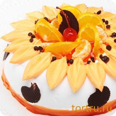 """Торт """"Апельсин"""", Бахетле"""