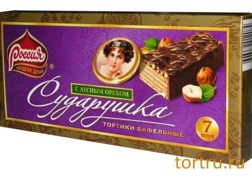"""Торт вафельный """"Сударушка"""""""