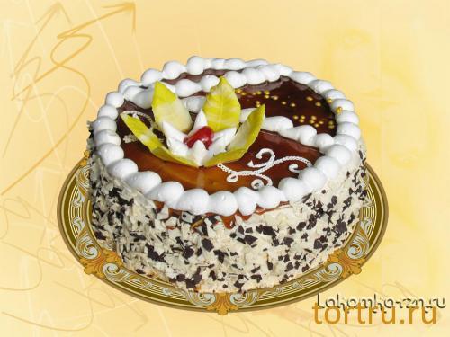 """Торт """"Камелия"""", кондитерский цех Лакомка, Рязань"""