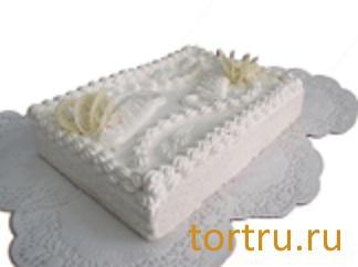 """Торт """"Белоснежка"""" комбинат кондитерских изделий Птичье молоко, Москва"""