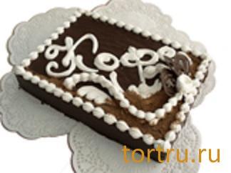 """Торт """"Птичье молоко с кофе"""" комбинат кондитерских изделий Птичье молоко, Москва"""