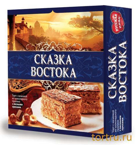 """Торт """"Сказка востока"""", Русская Нива"""