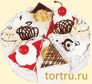 """Торт """"Ассорти"""", Хлебокомбинат """"Пролетарец"""", Москва"""
