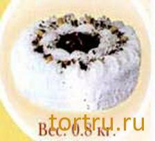 """Торт """"Белково-ореховый"""", Бердский хлебокомбинат"""