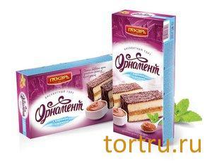 """Торт """"Орнамент"""" с вареной сгущенкой, Пекарь"""