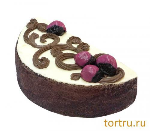 """Торт """"Чернослив в шоколаде"""", Волжский пекарь, Тверь"""