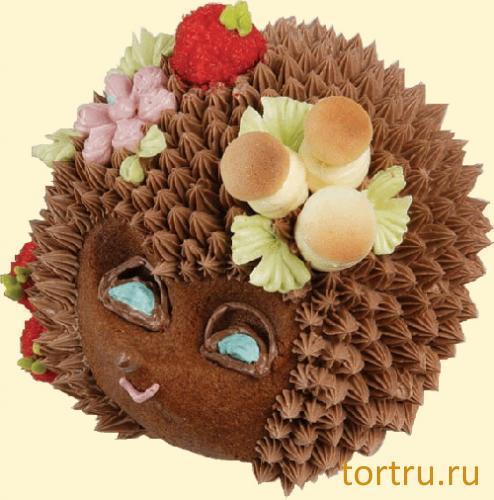 """Торт """"Ёжик"""", Хлебокомбинат """"Пролетарец"""", Москва"""