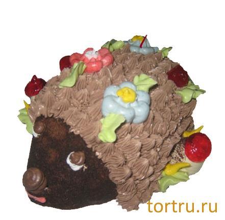 """Торт """"Ёжик"""", ТВА, кондитерская фабрика, Москва"""
