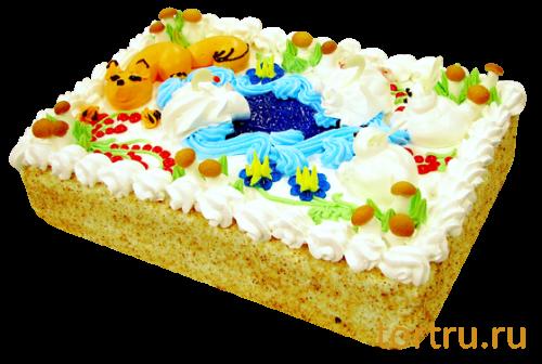 """Торт """"Детский"""", кондитерская фабрика Метрополис"""