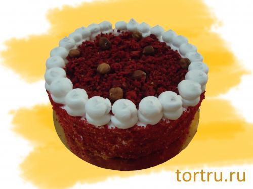 """Торт """" Красный бархат"""", Сладкие посиделки, кондитерская-пекарня, Омск"""