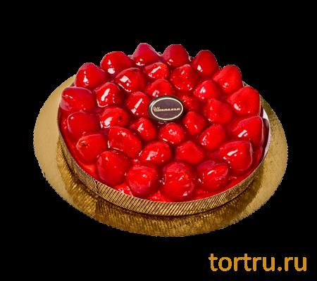 """Торт """"Тарт клубничный"""", французская кондитерская Шантимэль, Москва"""