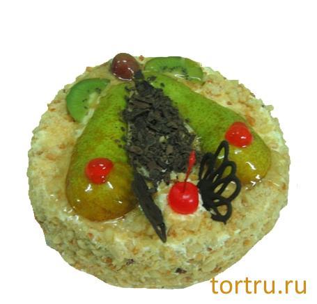 """Торт """"Грушевый"""", ТВА, кондитерская фабрика, Москва"""