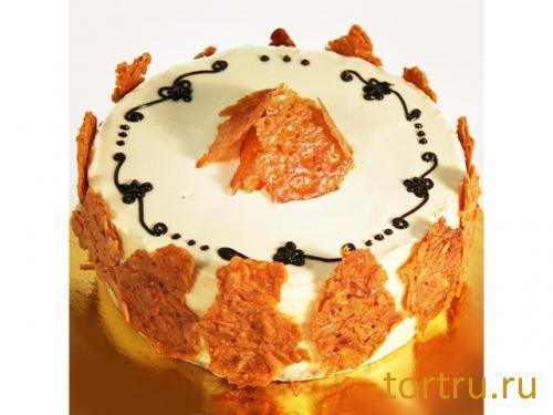 """Торт """"Карамельный"""", кондитерский дом Богатырь, Боровск"""