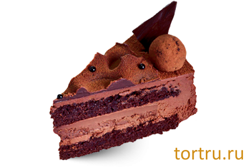 """Торт """"Королевский трюфель"""", кондитерская Крем Роял, Москва"""
