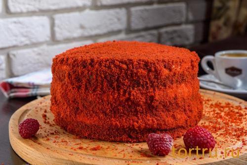"""Торт """"Красный бархат"""", кондитерская Ваниль"""