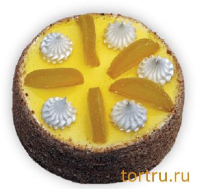"""Торт """"Лимонный"""", Вкусные штучки, кондитерская, Обнинск"""