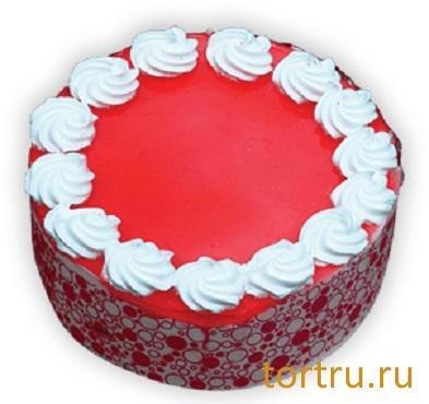 """Торт """"Малиновый остров"""", Вкусные штучки, кондитерская, Обнинск"""