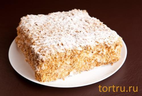 """Торт """"Наполеон"""", кондитерская Ваниль"""