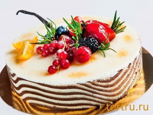 "Торт ""Онтроме Вкус Ванили"", Онтроме, кафе-кондитерская, Санкт-Петербург"
