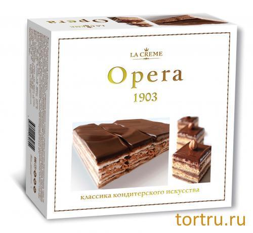 """Торт """"Опера"""", кондитерский дом La-Creame"""
