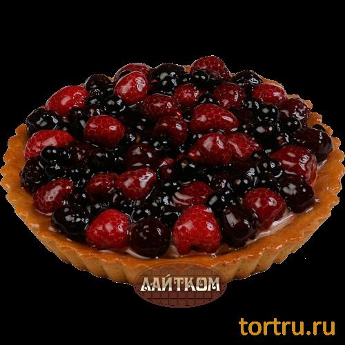 """Торт """"Корзина с ягодами"""", Лайтком, кондитерская, Москва"""