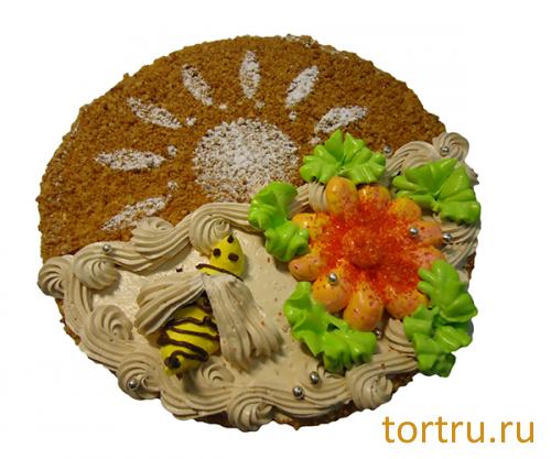 """Торт """"Пчелка"""", Сладкие посиделки, кондитерская-пекарня, Омск"""