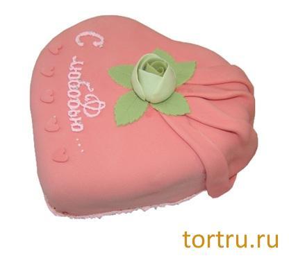 """Торт """"С любовью"""", Кузбассхлеб"""