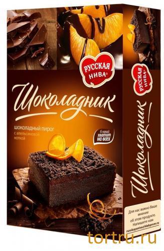 """Пирог """"Шоколадник"""", Русская Нива"""