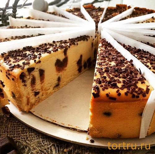 """Торт """"Чизкейк с шоколадной крошкой"""", булочная кондитерская """"За Мечтой"""""""