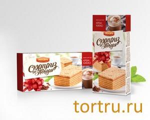 """Торт вафельный """"Сюрприз от пекаря"""" крем-какао, Пекарь"""