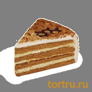 """Торт """"Медово-ореховый"""", кондитерская фабрика Сластёна, Чебоксары"""