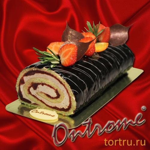 "Торт ""Онтроме Рулет"", Онтроме, кафе-кондитерская, Санкт-Петербург"