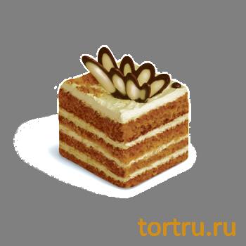 "Торт ""Cметанный медовик"", кондитерская фабрика Сластёна, Чебоксары"